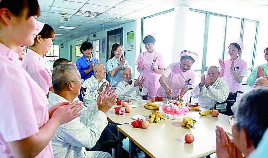 上海市东海老年护理医院守护健康传递关爱