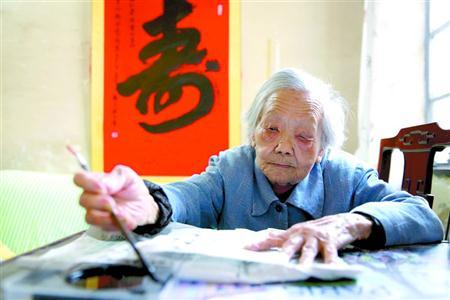 上海百岁老人首次超过2000人