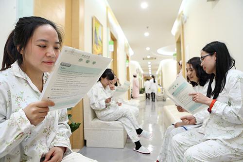 """<b>""""三八节""""关爱特教女老师 闵行区中医医院开展免费体检活动</b>"""